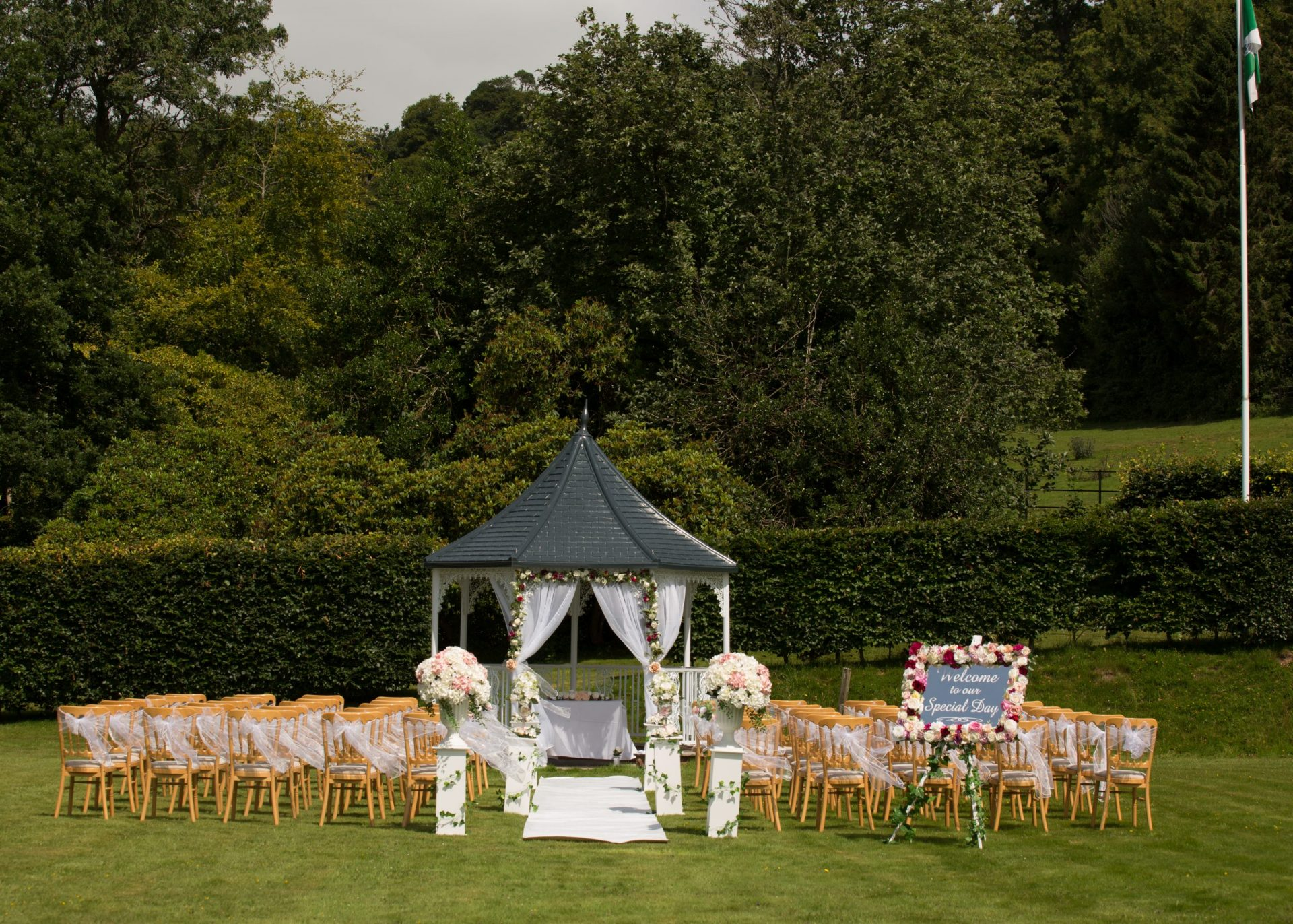 Our Tips for having an outdoor ceremony